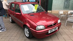 (Sam Tait) Tags: rover metro 100 si injection petrol 5 door 1998 114 gsi 14