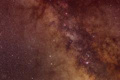 50 f/1.8 Tracker Test (LP!) (mbeganyi) Tags: milkyway night stars astrometrydotnet:id=nova2722991 astrometrydotnet:status=solved