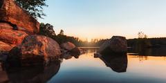 Sørsvann (Øyvind Bjerkholt (Thanks for 58 million+ views)) Tags: sørsvann lake rocks sunset reflections pov dof canon highiso beautiful geology landscape nature arendal norway