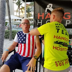 Shawn and I got B12 shots on the beach. (the queen of subtle) Tags: summer 2018 keywest casamarina independenceday shawn