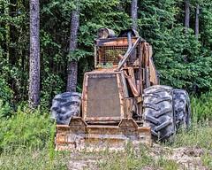 The Beast (augphoto) Tags: augphotoimagery machine machinery metal santuc southcarolina unitedstates