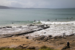 Surfers (Greenstone Girl) Tags: greatoceanroad lorne waves surfers winter fff photowalk