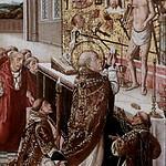 IMG_0100H X Flandre fin du 15è siècle La Messe de Saint Grégoire. The Mass of Saint Gregory. Tours Musée des Beaux Arts thumbnail
