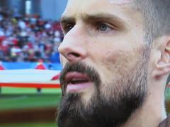 Hipster Giroud (knightbefore_99) Tags: 2018 worldcup russia football futbol beautiful game tv screenshot olivier giroud striker france french team cool art
