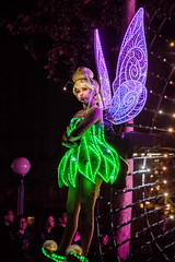 Tinkerbell in Paint the Night - Disney California Adventure (GMLSKIS) Tags: dca disneycaliforniaadventure anaheim california nikond750 paintthenight