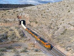 BNSF 6932 East at Nelson, AZ (thechief500) Tags: bnsf railroads seligmansubdivision nelson az usa us arizona