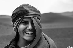 Smile (CodyRMiller_) Tags: portrait canon70d canon canonefs18135mmf3556isusm smile blackandwhite people photography adobe adobelightroom candid desert morocco theworldinphotographs sahara