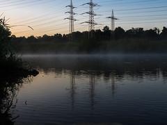 20180718-16 (haraldklein2201) Tags: aussen fwh flus fog landscape landschaft morgen morning natur nebel river sieg troisdorf wasser water nordrheinwestfalen deutschland de