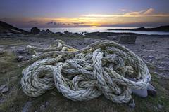 Ropey Sunset (jonsomersphotos) Tags: bude cornwall sunset rope coast seascape kernow cornish