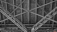 Structural Integrity (MBates Foto) Tags: availablelight blackandwhite bridge daylight existinglight monochrome nikkorlens nikon nikond810 nikonfx outdoors structure vancouver britsihcolumbia canada