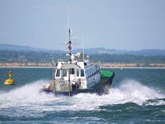 Southampton Harbour Master (brianshipman18) Tags: harbour master southampton cowes solent hampshire spitfire bouy