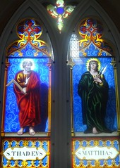 [63184] Redbourne : St Thadeus & St Matthias (Budby) Tags: redbourne lincolnshire church churchesconservationtrust window stainedglass