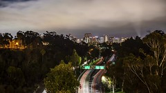 Cloud and Traffic Timelapse From San Diego's Cabrillo Bridge (slworking2) Tags: