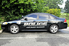 Black Cruiser (Throwingbull) Tags: colmar manor md maryland city town incorporated municipal municipality prince georges county police dept department law enforcement car vehicle cruiser marked unit