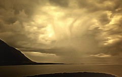 From Iceland. (Tóta. 27.12.1964.) Tags: natureiceland landscape clouds sea mountain borgarfjörður iceland ísland