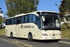 DF63KOD  Ava Coach, Leyland (highlandreiver) Tags: df63kod df63 kod ava coach leyland lancashire mercedes benz tourismo bus coaches po lloyd bagillt carlisle cumbria