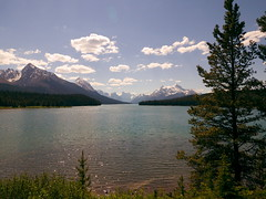MALIGNE LAKE (Rob Patzke) Tags: green blue panasonic lx100 coulds glacier color lumix water glimmer