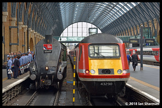 No 60009 Union Of South Africa No 43290 10th July 2018 London Kings Cross