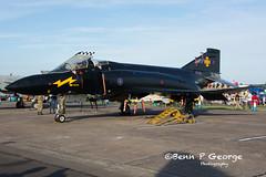 F4K-FG1-M-XV582-10-6-18-RAF-COSFORD-AIR-SHOW-18-(4) (Benn P George Photography) Tags: rafcosford airshow 10618 bennpgeorgephotography f4k fg1 xv582 blackmike phantom spook