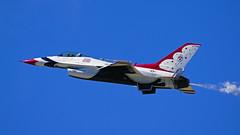 USAF Thunderbirds, Duluth Air & Aviation Expo - Duluth MN, 07/07/18 (TonyM1956) Tags: elements sonyalphadslr