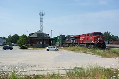 CP 142 at Smiths Falls (Crow Lake Railfan) Tags: cp ns pacific canadian rail