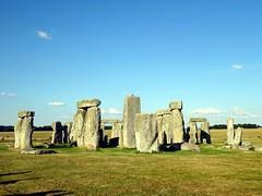 Standing stones at Stonhenge (markhorrell) Tags: britain walking stonehenge wiltshire antiquities