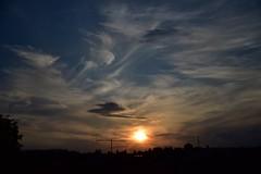 Sonne, Wolken.... (dorotheazinsser) Tags: 7dwf monday freetheme sky sonnenuntergang himmel wolken