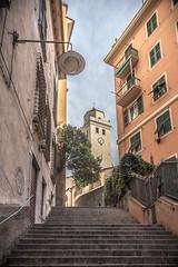 Santa Maria di Castello (FButzi) Tags: genova genoa liguria italy italia santa maria di castello campanile veduta scalinata vicoli centro storico