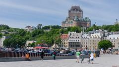 Château Frontenac, Vieux Québec, Canada - 7254 (rivai56) Tags: châteaufrontenac vieuxquébec canadaquébec québec canada ca quebeccity place des canotiers