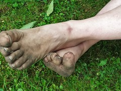 barefoot in nature 149 (dirtyfeet6811) Tags: feet toes barefoot dirtyfeet dirtytoes feetinnature