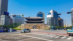 Seoul-Korea (5) (johnfranky_t) Tags: seoul seul johnfranky t korea bus pagoda samsung s7 semaforo grattacieli strscie pedonali auto car traffic light finestre vetrate