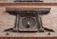 Peacock window (SamKirk9) Tags: nepal kathmandu bhaktapur