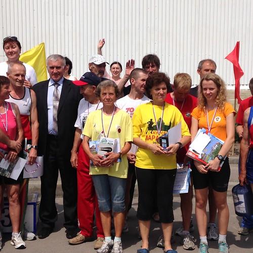 Участники забегов в Ливнах