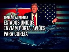 Donald Trump envia porta-aviões para Coreia (Felipe Dideus) (portalminas) Tags: donald trump envia portaaviões para coreia felipe dideus