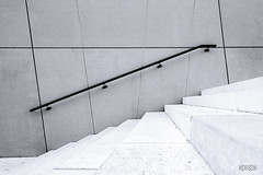 18_011 (Hofmeister Willi) Tags: blackwhite graz railing sony stairs steel stone styria whoohw