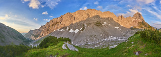 Karwendel Sunrise Panorama