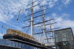London, England, UK - Greenwich - Cutty Sark (jrozwado) Tags: europe uk unitedkingdom england greenwich unescoworldheritage maritimegreenwich london cuttysark clipper ship museum