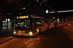 Autobus articulé MAN Lion's City n°677 en service sur la ligne 22. © Marc Germann (Marc Germann) Tags: trolleybus naw bt25 bus remorques convois retrobus hesskiepe hesskièpe nawhess nawhesssiemens nawfbw rétrobus par brise routes arbres autobus lions city articulation man hess transports publics tl lausanne