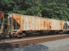 MWCX 460755 (Proto-photos) Tags: weathered old rusty mwcx lo c113 coveredhopper train railroad freightcar railcar midwest broadford pennsylvania 460755 60ft 3bay