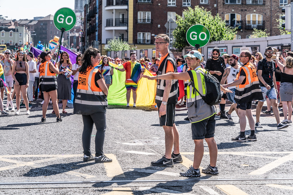 ABOUT SIXTY THOUSAND TOOK PART IN THE DUBLIN LGBTI+ PARADE TODAY[ SATURDAY 30 JUNE 2018] X-100037