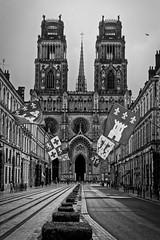 Orléans : Cathédrale (Pascal.M (bong.13)) Tags: loiret centreval de loire sonyrx100 noiretblanc blackandwhite france orléans
