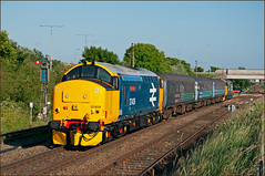 37409, Great Yarmouth, 28/06/18 (bontybermo402) Tags: drs britishrail englishelectric 37 greatyarmouth norwich anglia shortset locomotive