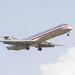 American Airines Boeing 727 Lands at IAH 1806101708