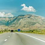 Roan Cliffs from I-70, Parachute, Colorado thumbnail