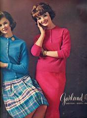 Garland 1961 (barbiescanner) Tags: vintage retro fashion vintagefashion 1960s1960sfashions 60s 60sfashionsvintageadvertising 1960sadvertising 60sadvertising seventeen garland susanvanwyck