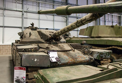 Cheiftain Prototype P6 28th April 2018 #1 (JDurston2009) Tags: cheiftainprototypep6 tigerday tigerdayix bovington bovingtoncamp dorset tank tankmuseum thetankmuseum conservationhall reservecollection