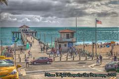 On The Pier (Michael F. Nyiri) Tags: pier manhattanbeachpier california southerncalifornia beach pacificocean