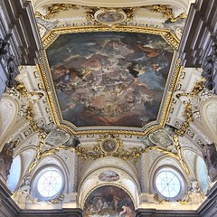 Detail (kristof101) Tags: palace royal interiour gold angels cieling painting