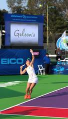 The Toss (thinduck42) Tags: tennis girl woman female action worldteamtennis orangecountybreakers serve apple iphone8plus