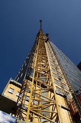 Crane From Below Looking Up (Bracus Triticum) Tags: crane from below looking up calgary カルガリー アルバータ州 alberta canada カナダ 7月 七月 文月 shichigatsu fumizuki bookmonth 2018 平成30年 summer july
